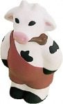 Standing Cow with Pipe