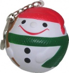 Santa Claus Ball Keyring
