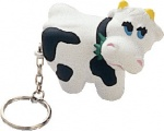 Bell Cow Keychain