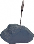 Rock with Steel Clip