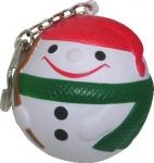 Santa Claus Ball Keyring