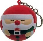 Santa Claus Ball  Keychain