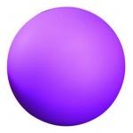 9.5cm Purple Stress Relief